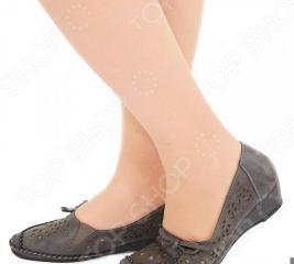 Туфли EGO «Романтика». Цвет: темно-серый