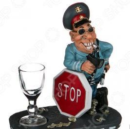 Набор подарочный «На посошок»: фигурка «Полицейский» и рюмка 537-226