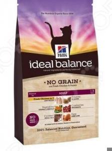 Корм сухой для кошек Hill's Ideal Balance со свежей курицей и картофелем