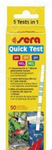 Тест для аквариумной воды Sera Quick Test