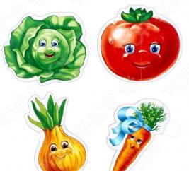 Пазл мягкий Vladi Toys Baby puzzle «Овощи»