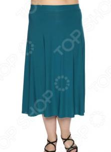 Юбка VEAS «Элегантная». Цвет: бирюзовый