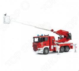 Машина пожарная Bruder Scania 03-590