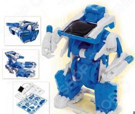 Конструктор на солнечной батарее Bradex 3 в 1 «Робот-трансформер»