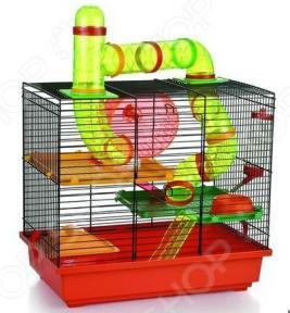 Клетка для грызунов Beeztees Rocky с игровым комплексом