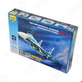Сборная модель Звезда Самолет «Су-27»