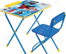 Набор мебели детский: стол и стул Ника Marvel 2 «Великий Человек Паук»