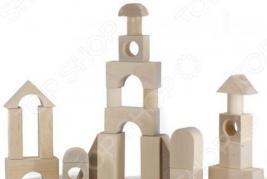 Конструктор для малышей Alatoys «Городок» К1600