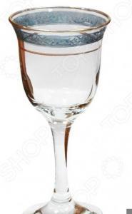 Набор фужеров для шампанского Гусь Хрустальный «Махараджа»