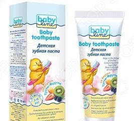 Паста зубная для детей BABYLINE «Тутти-Фрутти»