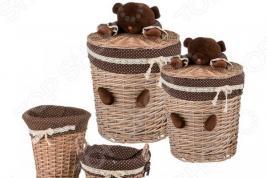 Набор корзин для игрушек Lefard 190-146