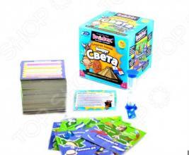 Настольная игра BrainBox Сундучок знаний. Вокруг света