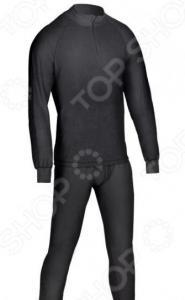 Комплект термобелья Huntsman H-100-zip. Цвет: черный