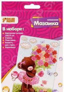 Набор для создания мозаики Color Puppy «Мишка-милашка»