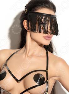 Украшение на голову Me Seduce Queen of Hearts с длинной бахромой