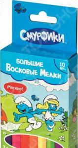 Набор мелков восковых Росмэн «Смурфики»