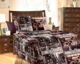 Комплект постельного белья ТексДизайн «Парижские тайны». 1,5-спальный