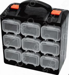 Ящик для крепежа двухсекционный FIT