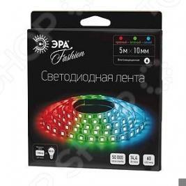 Лента светодиодная Эра LS5050-60LED-IP65-RGB-W-5m