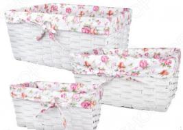 Набор плетеных корзин с вкладкой Miolla QL400436