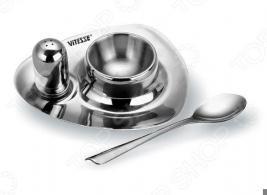 Пашутница с солонкой и ложечкой Vitesse Mistio