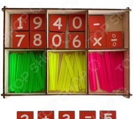 Набор счетных палочек PAREMO «Веселый счет»