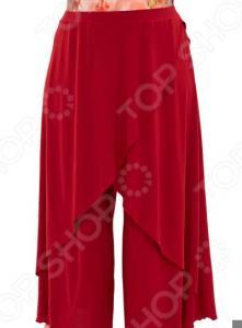 Юбка-брюки Pretty Woman «Крылья Пегаса». Цвет: бордовый