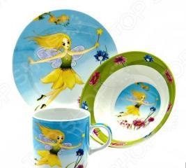 Набор посуды для детей Loraine «Фея»