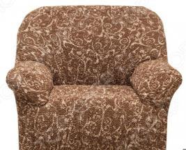 Натяжной чехол на кресло Еврочехол «Виста. Инка»