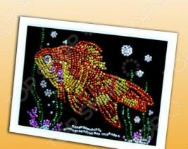Мозаика из пайеток Волшебная мастерская «Золотая рыбка»