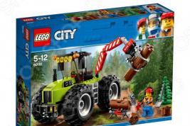 Конструктор игровой для ребенка LEGO City Great Vehicles «Лесной трактор»