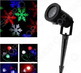 Светодиодный проектор «Снежинка»