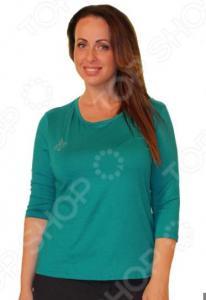 Блуза Матекс «Милка»: 2 шт. Цвет: изумрудый, коричневый