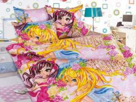 Детский комплект постельного белья Бамбино «Подружки»