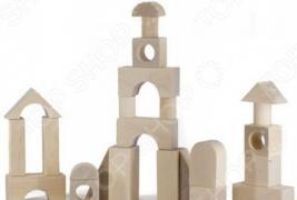Конструктор для малышей Alatoys «Городок» К2100