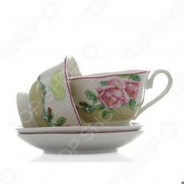 Чайная пара Mayer&Boch MB-23005 «Розы»