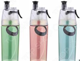 Бутылка для воды Bergner SH-7497 Swiss Home. В ассортименте