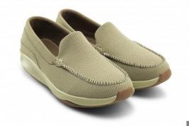Мокасины мужские Walkmaxx Comfort. Цвет: бежевый