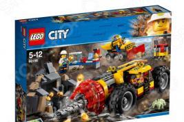 Конструктор игровой для ребенка LEGO City Mining «Тяжелый бур для горных работ»