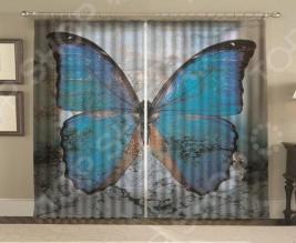 Комплект фотоштор «Мраморная бабочка»