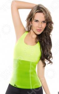 Футболка для похудения HOT SHAPERS. Цвет: зеленый
