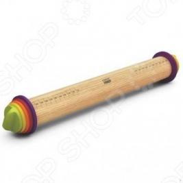 Скалка регулируемая Joseph Joseph Adjustable Rolling Pin. Цвет: мультиколор. Габариты: 69x435x69