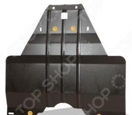 Комплект: защита радиатора и крепеж NLZ для Toyota Land Cruiser 200 / Lexus LX 570, 2010-2014
