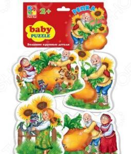 Пазл мягкий Vladi Toys «Сказки. Репка»