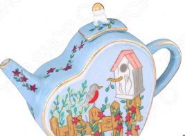 Чайник сувенирный Elan Gallery «Скворечник»