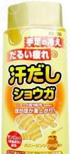 Соль для ванны Hakugen Bath King с восстанавливающим эффектом на основе имбиря