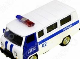 Машинка инерционная PlaySmart «Газ-21. Полиция. ДПС». Масштаб: 1:50