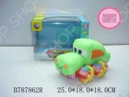 Мягкая игрушка музыкальная Tongde «Машинка» В72432