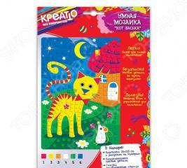 Набор для создания мозаики Креатто «Кот Васька»