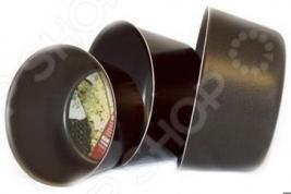 Форма для выпечки Flonal Black&Silver круглая